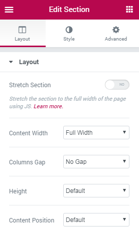 How to create Fullpage scrolling websites with Elementor   BriefcaseWP