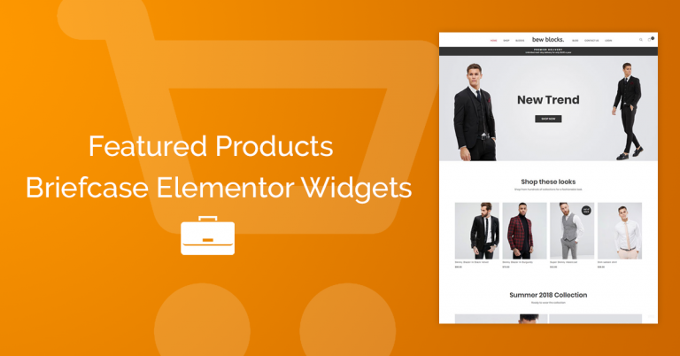 Custom Woocommerce product page with Elementor | BriefcaseWP