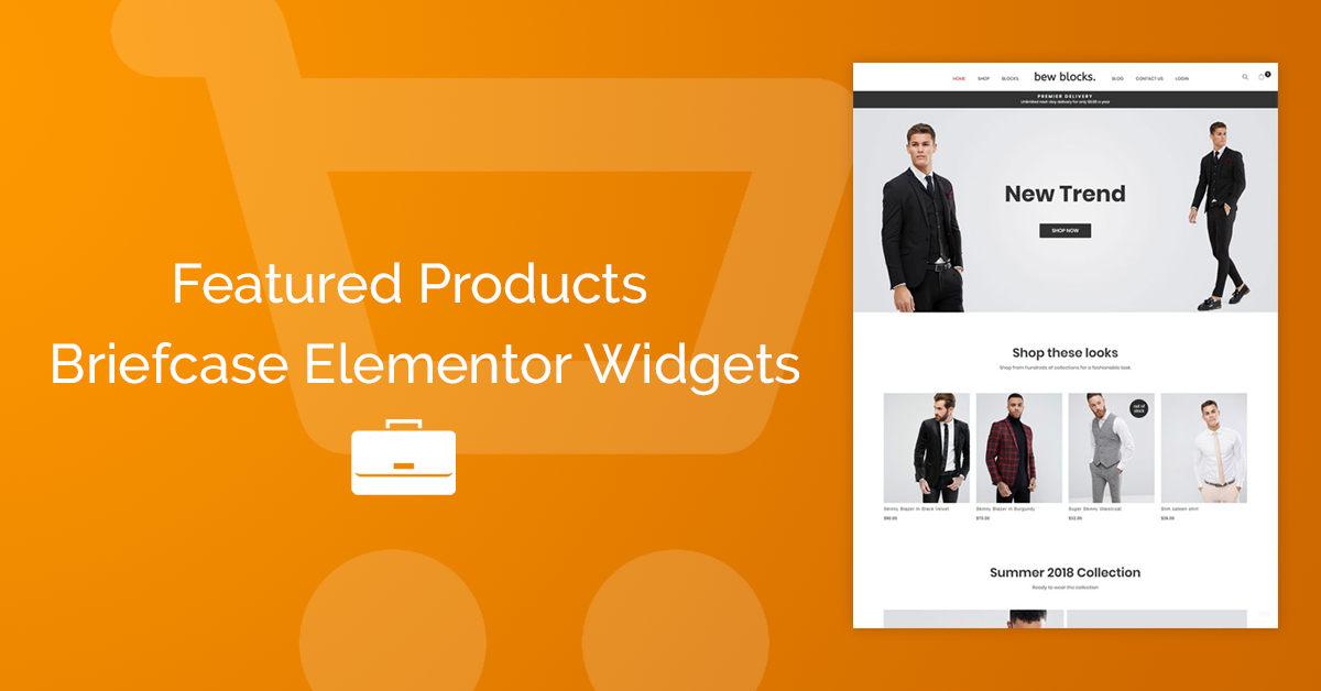 Woocommerce with Elementor | BriefcaseWP